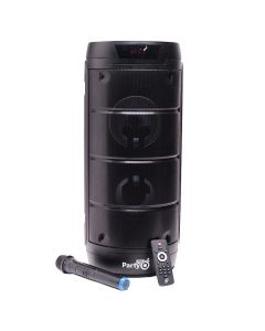 Boxa portabila E-Boda Party 200, Bluetooth, Microfon, Telecomanda, Negru
