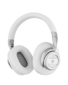 Casti multimedia cu Bluetooth, active noise cancelling, Sweex, alb