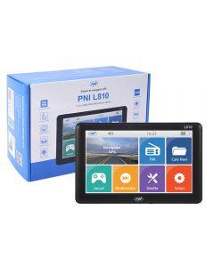 Sistem de navigatie GPS PNI L810 ecran 7 inch, 800 MHz, 256MB DDR, 8GB memorie interna, FM transmitter