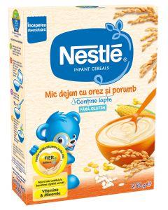 Cereale Nestle Mic dejun cu orez si porumb, 250g, Inceperea diversificarii