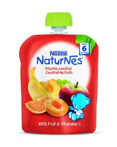 Piure Nestle NaturNes Multifruct, 90g, de la 6 luni