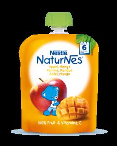 Piure Nestle NaturNes Mere si Mango, 90g, de la 6 luni