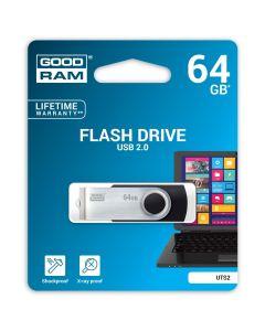 Memorie USB GoodRam UTS2 64 GB, Usb 2.0, Negru