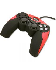 Gamepad GA-02 Acme, PC, Cu fir, USB, Negru