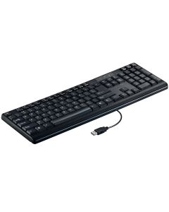 Tastatura Basic BKEY15BK Poss, Cablu 1m, Universala, Negru