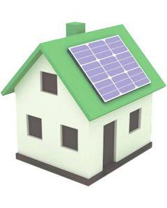 Kit panouri fotovoltaice + invertor on grid Solax, 2.12 KWP, monofazat, 60 celule, 8 panouri, putere maxima produsa 2.1 kW