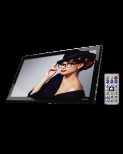 "Rama foto digitala  173SLPHD Hama, 17.3"", MMC/SD/SDHC, USB 2.0, HDMI, Telecomanda, 1920 x 1080, Black"