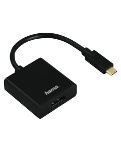Adaptor tip C Hama, DisplayPort, Ultra HD