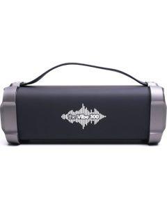 Boxa portabila bluetooth The Vibe 100 E-boda, 6W RMS,Intrare AUX, MicroSD, Radio FM, MicroUSB, Negru