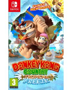 Donkey Kong Country Tropical Freeze - Sw