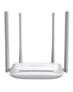 Router wireless Mercusys MW325R, 300Mbps, 4 porturi 10/100Mbps, 4 antene, 802.11 b/g/n, 2.4Ghz, Alb