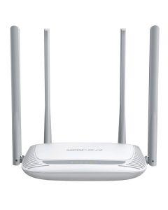 Router wireless Mercusys MW325R, 300Mbps, 4 porturi 10/100Mbps, 4 antene, 802.11 b/g/n, 2.4Ghz, Alb