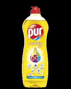 Detergent de vase Pur Power Lemon, 900 ml