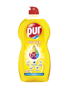 Detergent de vase Pur Power Lemon, 1.35 L
