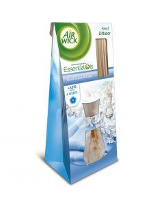 Odorizant de camera cu betisoare Air Wick Reed Diffusers Cool Linen, 25 ml