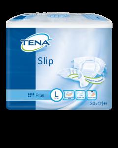 Scutece deschise incontinenta adulti Tena Slip Plus ConfioAir, Unisex, L, 30 buc