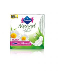Absorbante Libresse Natural Care Normal, 10 bucati