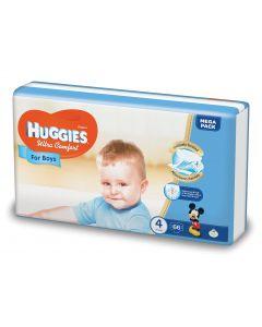 Scutece Huggies Ultra Comfort, nr 4, 8-14 kg, Mega, 66 buc, pentru baieti