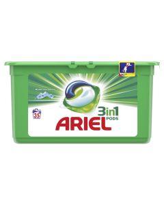 Detergent automat capsule Ariel 3in1 PODS Mountain Spring, 35 spalari, 35 buc