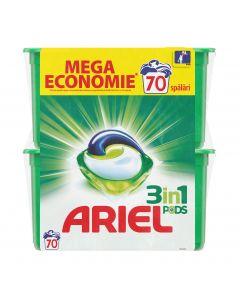 Detergent automat capsule Ariel 3in1 PODS Mountain Spring, 70 spalari