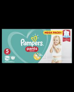 Scutece chilotel Pampers Pants Mega Pack, Marime 5, 12-17 kg, 96 buc
