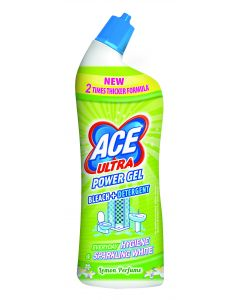 Gel universal cu inalbitor Ace Power Gel Lemon, 750 ml