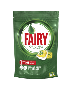 Detergent capsule pentru masina de spalat vase Fairy All in One, 60 buc