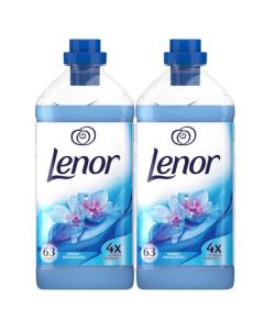 Balsam de rufe Lenor Spring Awakening, 2 x 63 spalari, 2 x 1.9 L