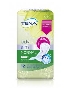 Absorbante pentru incontinenta Tena Lady Slim Normal, 12 buc