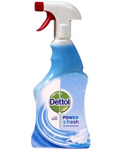 Dezinfectant spray suprafeteDettol Trigger Crisp Linen and Aqua Sky, 500 ml