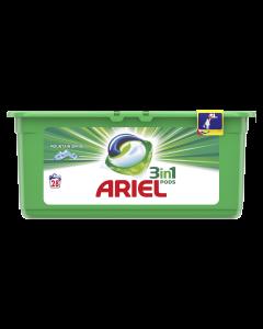 Detergent automat capsule Ariel 3in1 PODS Mountain Spring, 28 spalari, 28 buc