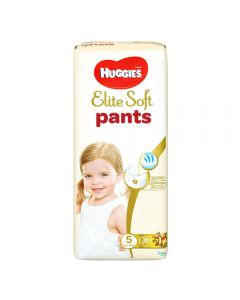Scutece chilotel Huggies Elite Soft, nr 5,  12-17 kg,  Mega, 38 buc