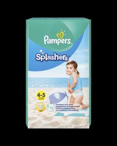 Scutece Pampers Splashers, Marime 4-5, 9-15 kg, 11 buc
