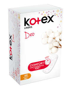 Absorbante zilnice Kotex Deo Normal, 60 buc