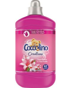 Balsam de rufe Coccolino Creations Tiare Flower, 67 spalari, 1.68 L