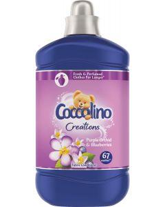 Balsam de rufe Coccolino Creations Purple Orchid, 67 spalari, 1.68 L