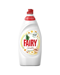 Detergent de vase Fairy Sensitive Chamomile & Vitamin E, 800 ml