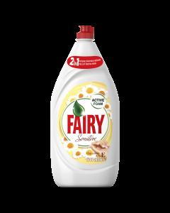 Detergent de vase Fairy Sensitive Chamomile & Vitamin E, 1.3 L