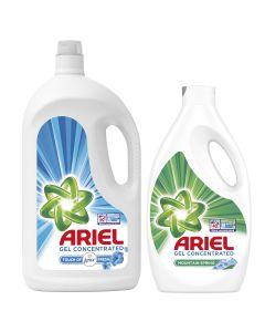 Pachet Promo: Detergent automat lichid Ariel Touch of Lenor Fresh, 60 spalari, 3,3 L + Detergent automat lichid Ariel Mountain, 40 spalari, 2,2 L