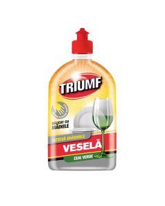 Detergent lichid de vase Triumf Ceai Verde, 500 ml