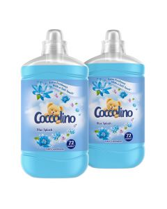 Balsam de rufe Coccolino Blue Splash, 2x1.8L