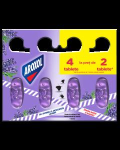 Gel impotriva moliilor si acarienilor Aroxol Lavanda, 4 buc