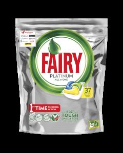 Detergent capsule pentru masina de spalat vase Fairy Platinum, 37 buc
