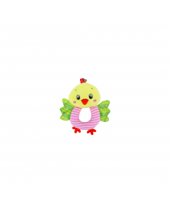 Jucarie zornaitoare din plus, Chicken, 18 cm, Lorelli