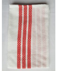 Prosop bordura 2buc/set rosu 50X70cm