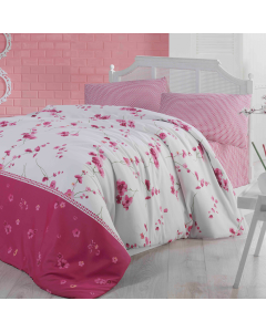 Lenjerie Home Berry 2 persoane, 200x220 cm, Florya