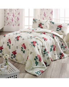 Lenjerie Home Berry 2 persoane, 200x220 cm, Rana