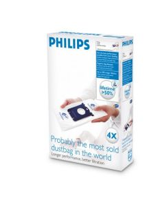 Saci pentru aspirator FC8021 Philips, 4 bucati, S-bag