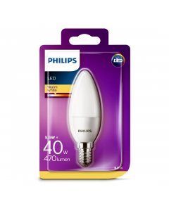 Bec Philips Led B35 40W E14 MAT 2700K