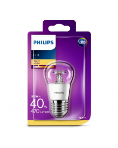 Bec Philips Led P45 40W E27 2700K
